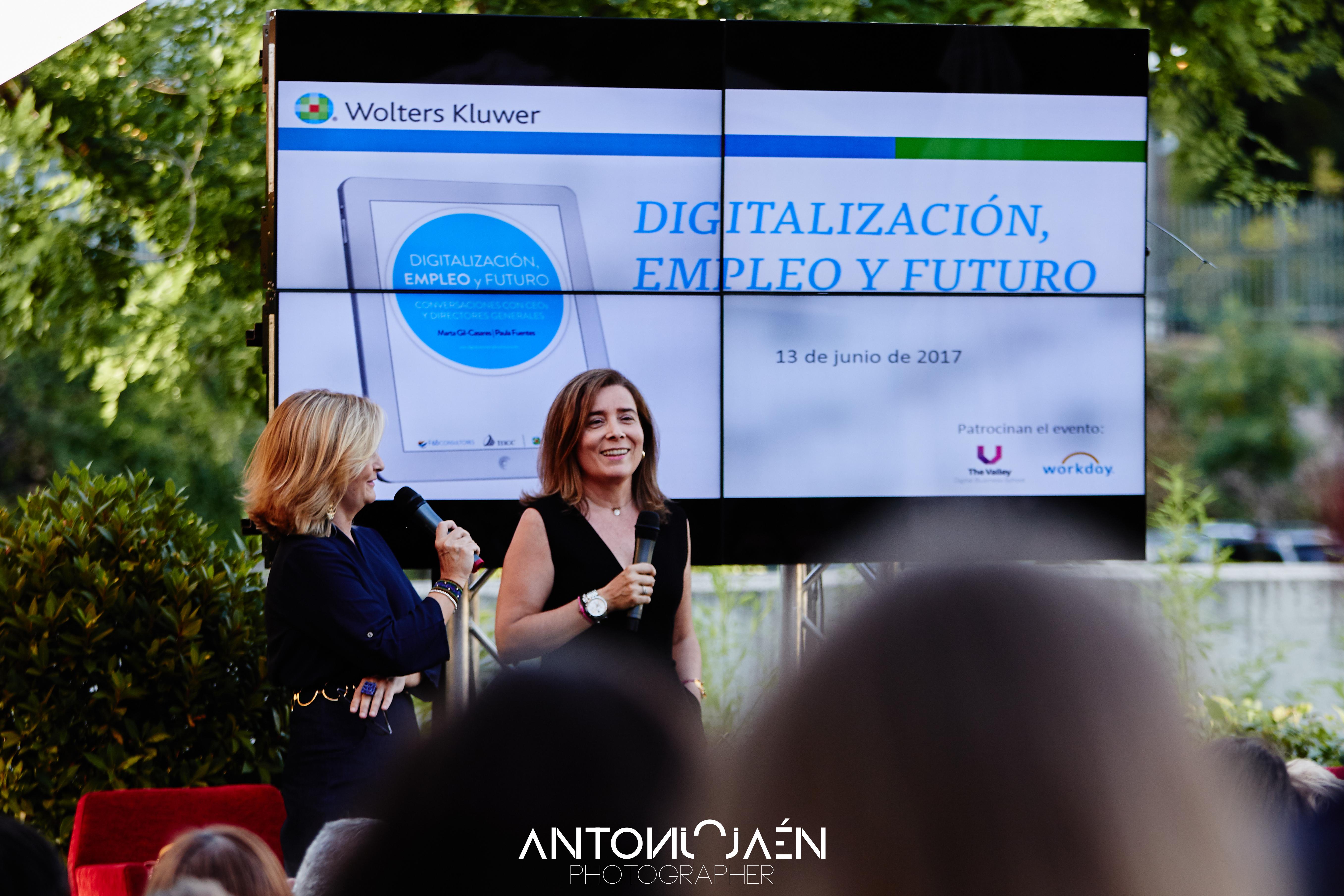 Digitalización, empleo y futuro: Paula Fuentes y Marta Gi-Casares