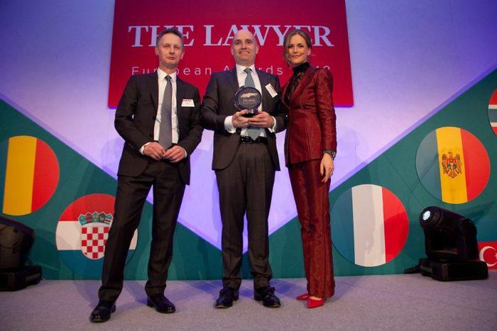 The Lawyer – European Awards 2018