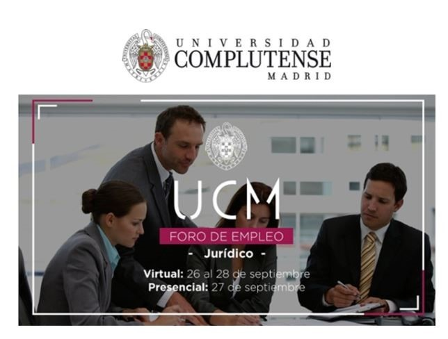 Foro de Empleo – Universidad Complutense de Madrid Jurídico – 2018