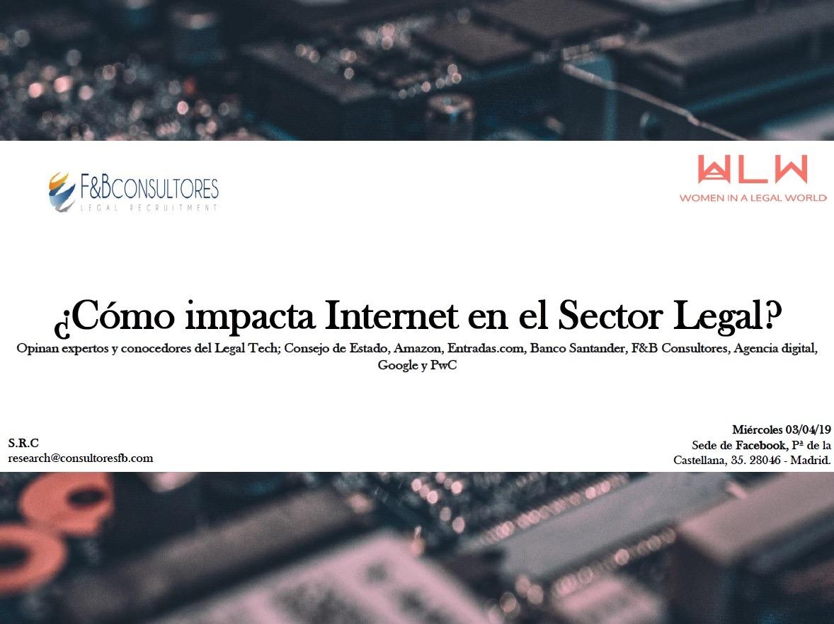 ¿Cómo Impacta Internet en el Sector Legal?