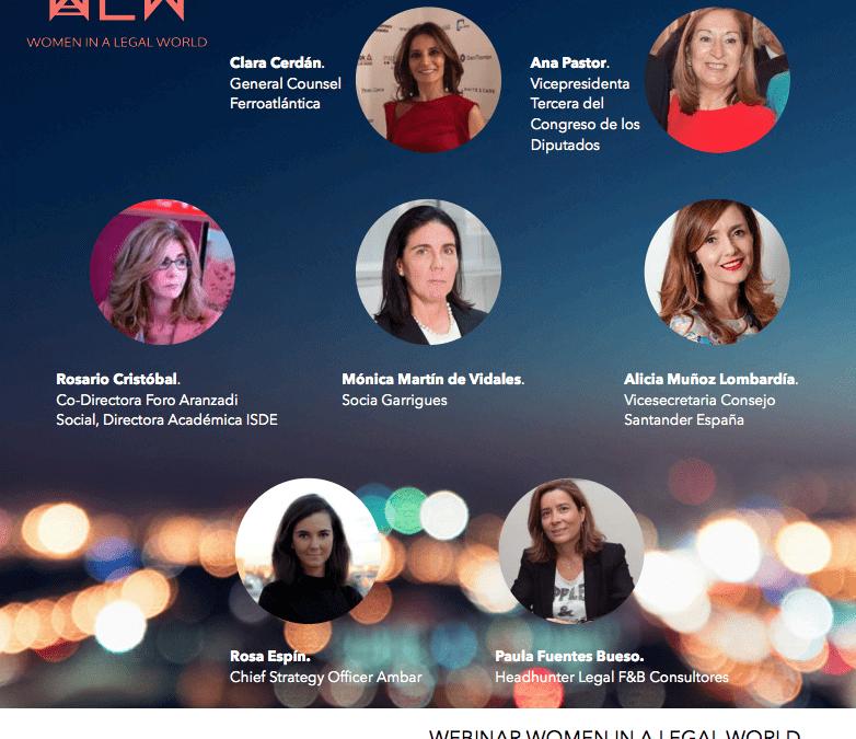 WEBINAR Women in a Legal World