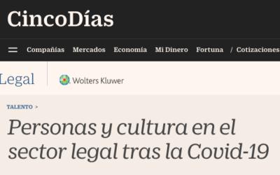 Personas y cultura en el sector legal tras la Covid-19